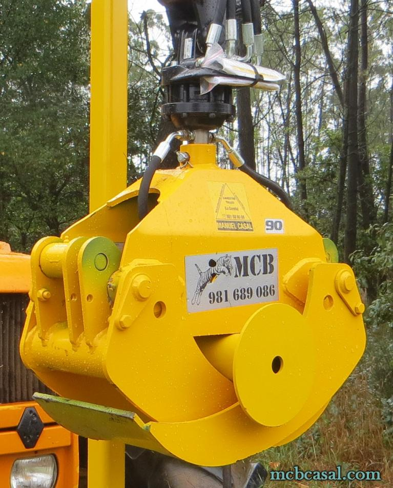 Pinzas forestales MCB 8