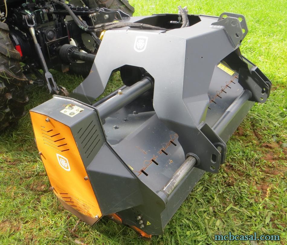 Desbrozadora forestal Cancela modelo TGS-160D 10