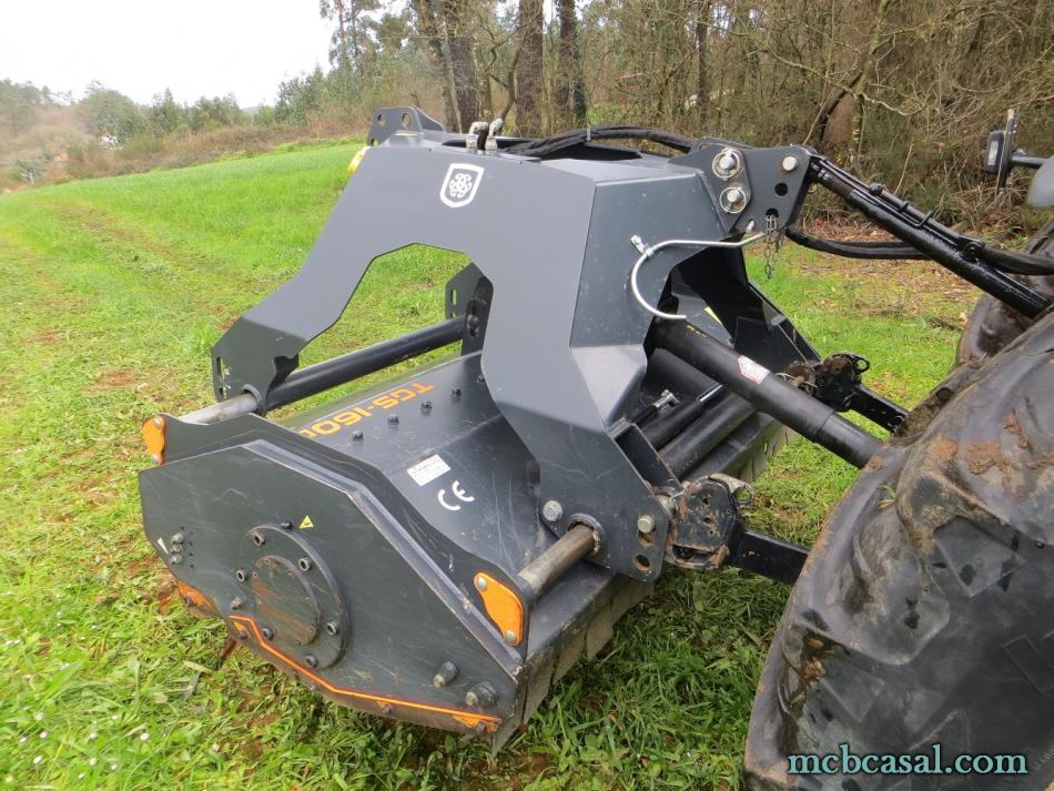 Desbrozadora forestal Cancela modelo TGS-160D 12