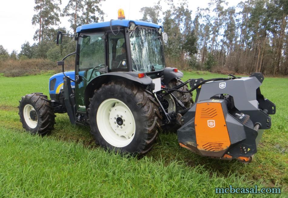 Desbrozadora forestal Cancela modelo TGS-160D 14
