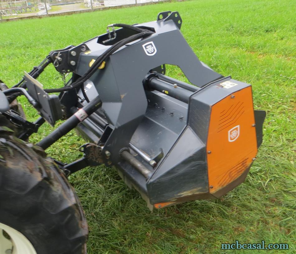 Desbrozadora forestal Cancela modelo TGS-160D 13