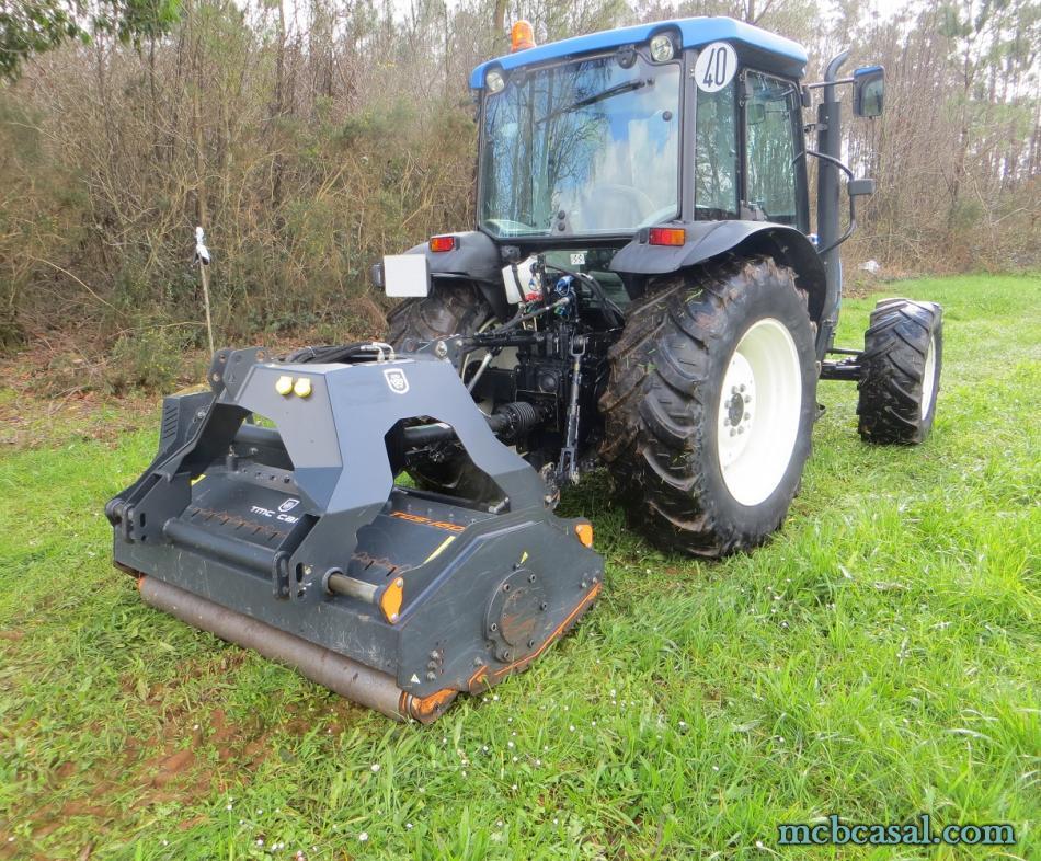 Desbrozadora forestal Cancela modelo TGS-160D 5