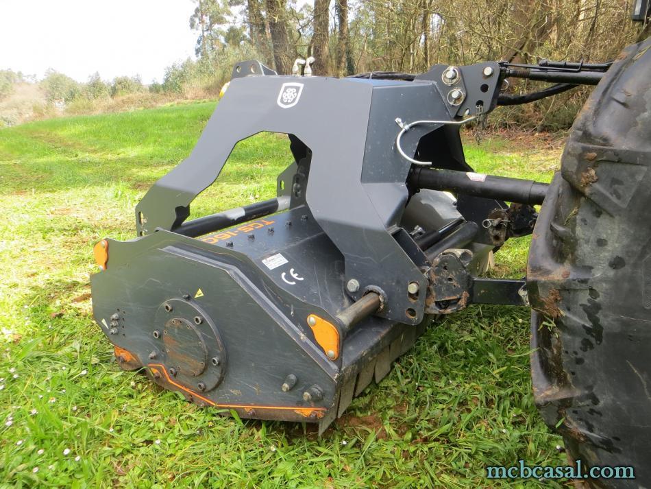 Desbrozadora forestal Cancela modelo TGS-160D 8