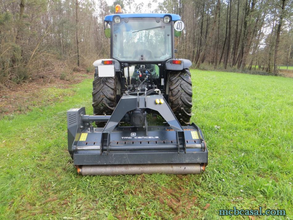 Desbrozadora forestal Cancela modelo TGS-160D 6