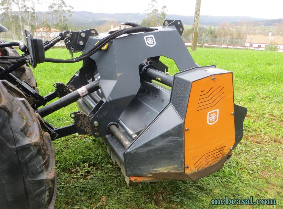 Desbrozadora forestal Cancela modelo TGS-160D 11