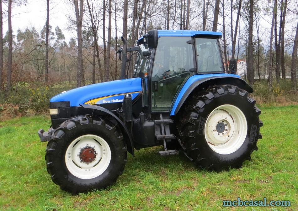 New Holland TM 135 1