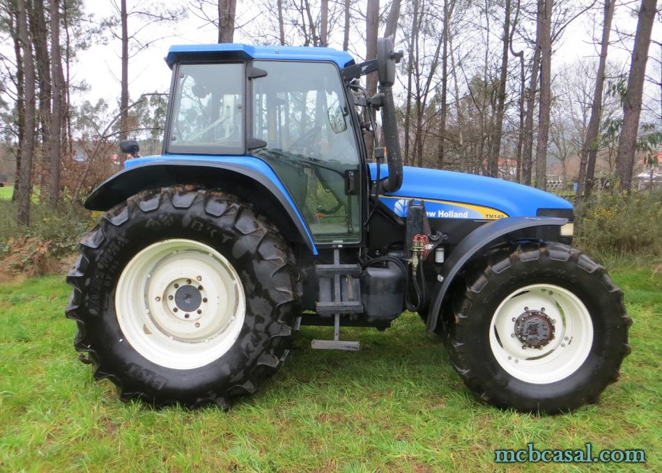 New Holland TM 135 2