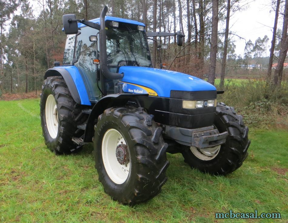 New Holland TM 135 5
