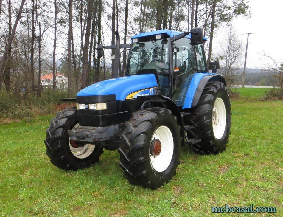 New Holland TM 135 4