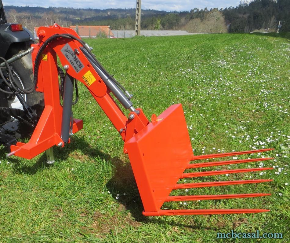 Pala cargadora para tractor 2