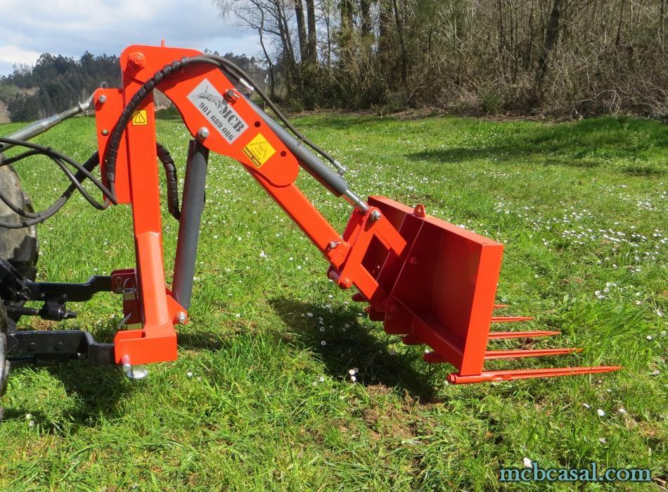Pala cargadora para tractor 1