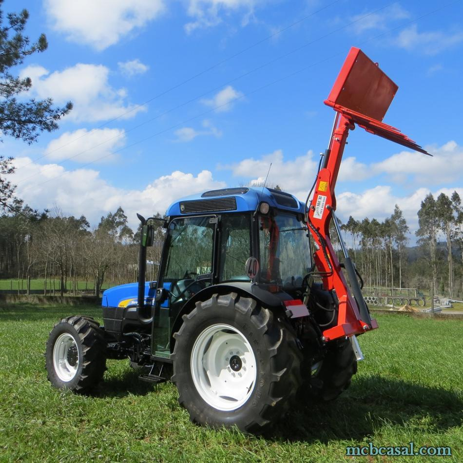 Pala cargadora para tractor 5