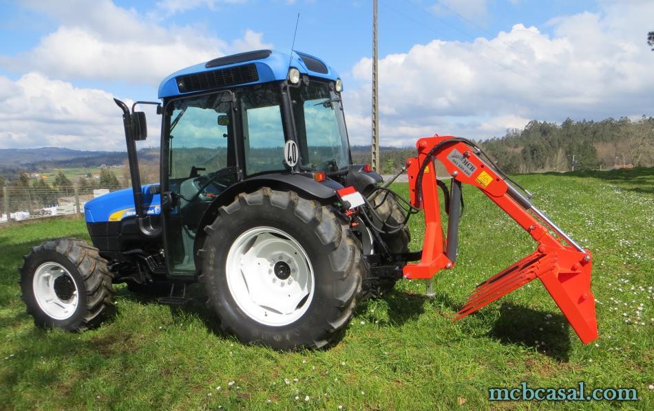 Pala cargadora para tractor 6