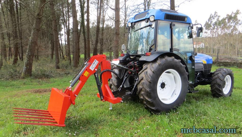 Pala cargadora para tractor 4