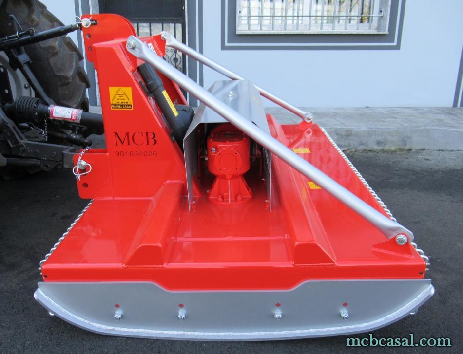 Desbrozadoras MCB de dos rotores 12