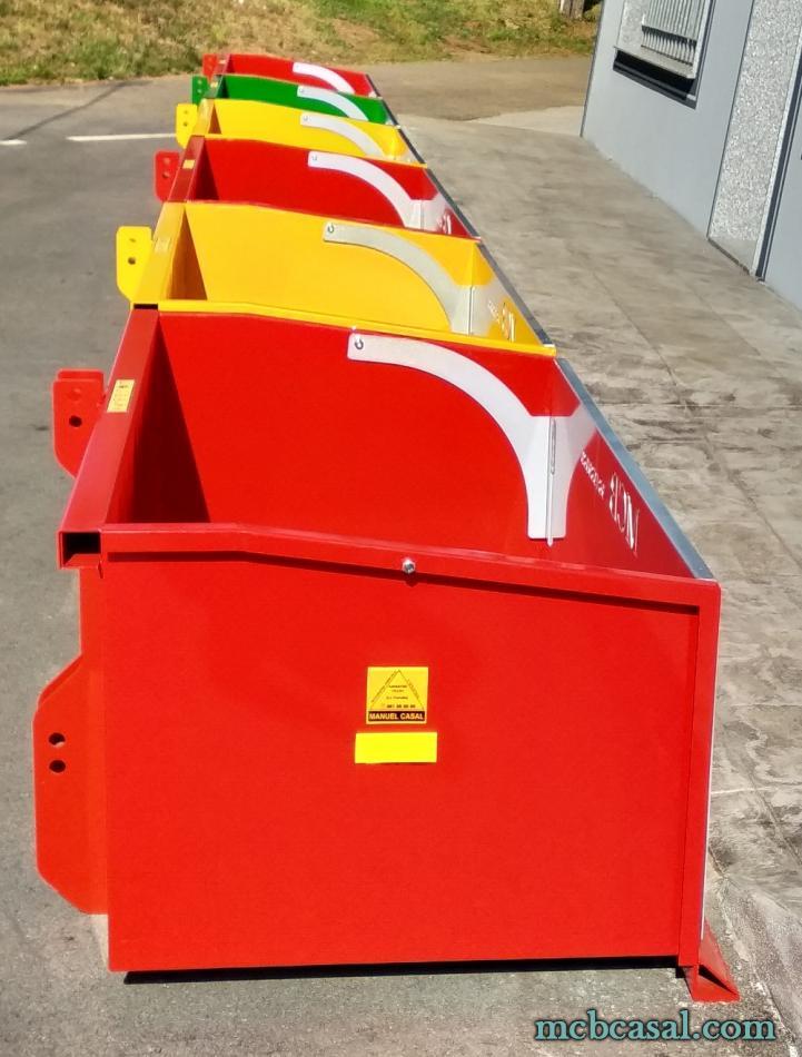 Cajas de carga para tractor 11