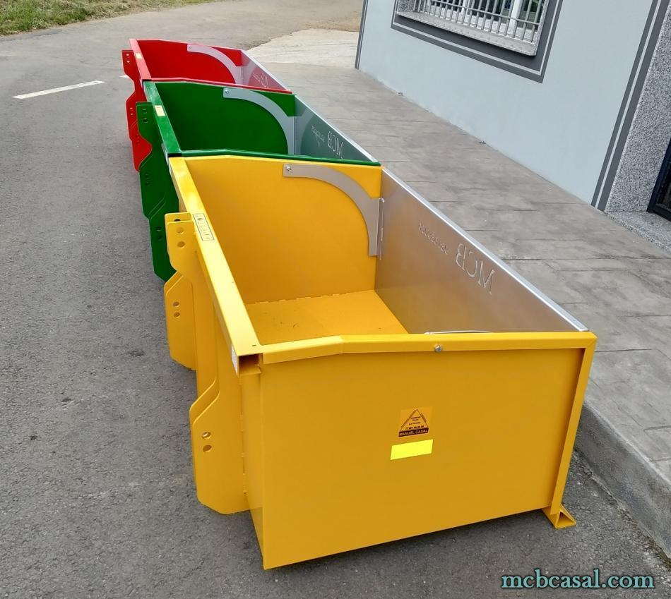 Cajas de carga para tractor 4