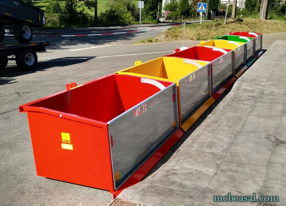 Cajas de carga para tractor 12