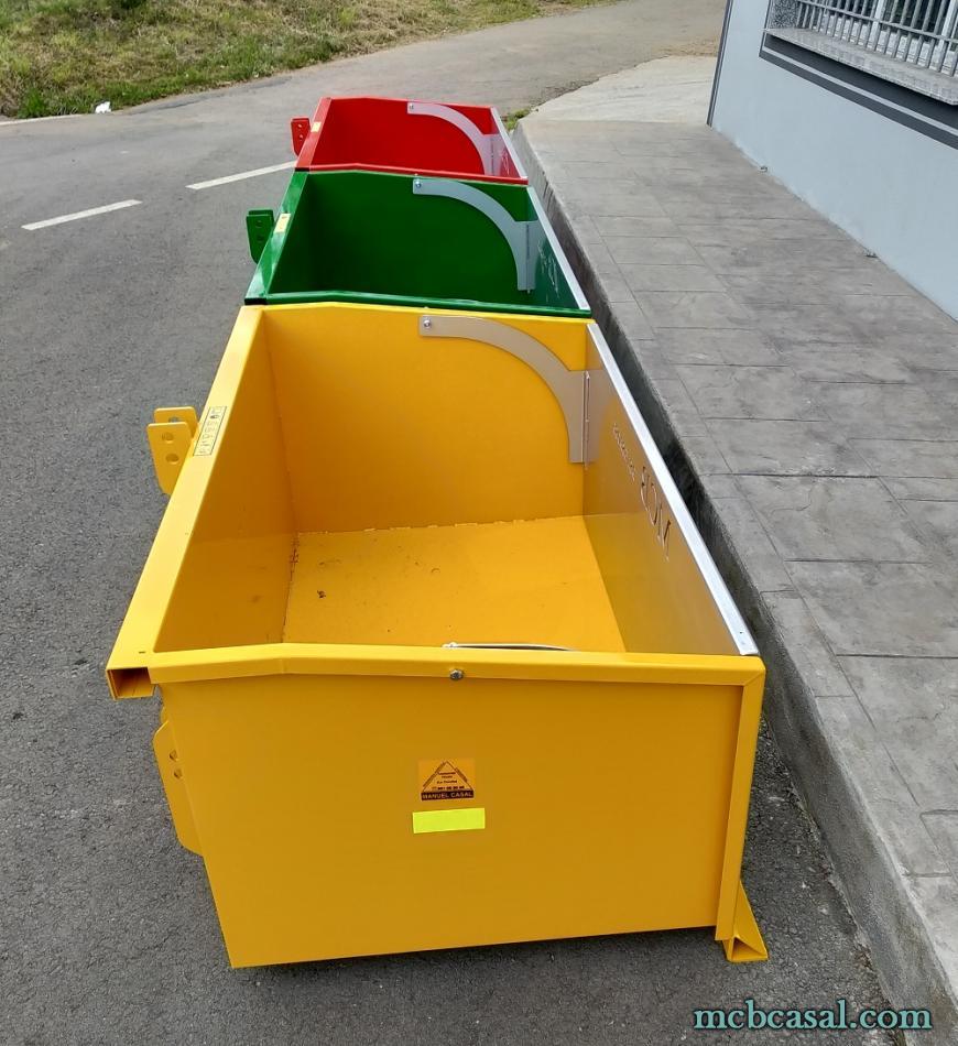 Cajas de carga para tractor 6