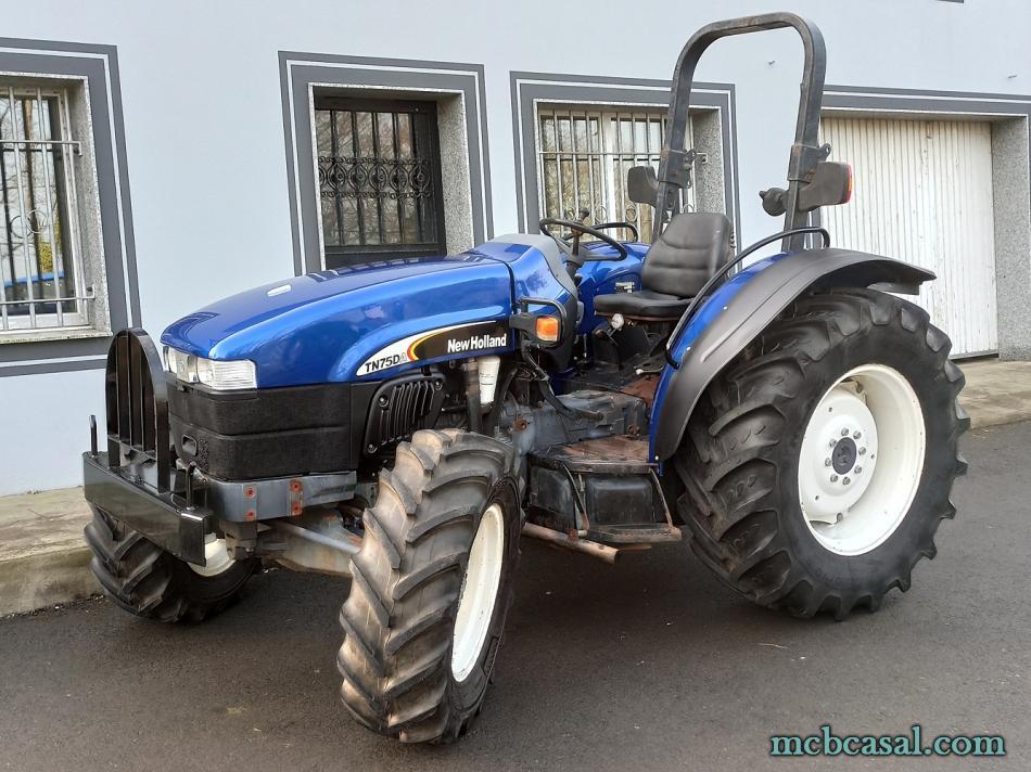 New Holland TN 75 D 4