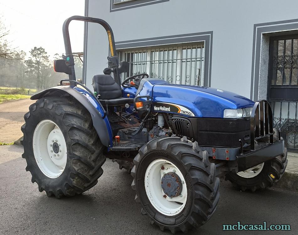 New Holland TN 75 D 8