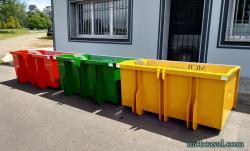 Cajas de carga para tractor